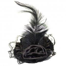 Barrette Gothique Micro Hat Black
