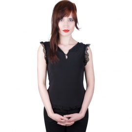 Aderlass Haut Gothique Black Top Jersey