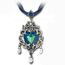 Alchemy Gothic P531 Collier Gothique Alchemy Gothic Empress Eugenie's Blue Heart Diamond