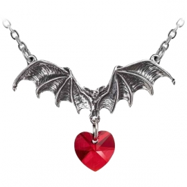 Alchemy Gothic P802 Vampire Love Heart