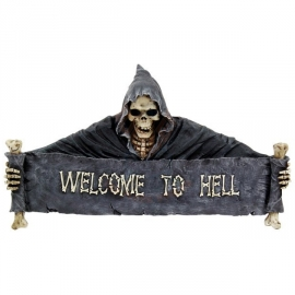 Applique Gothique Welcome to Hell