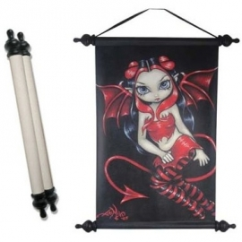 art scroll jasmine-becket griffith devilish fairy