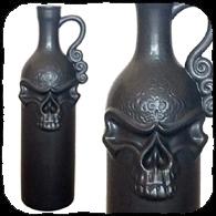 bouteille gothique death decanter boutique gothique. Black Bedroom Furniture Sets. Home Design Ideas