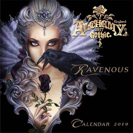 Calendrier Alchemy Gothic 2019