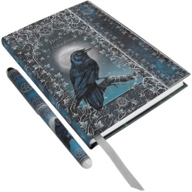 Carnet Intime Gothique Book of Shadows + Stylo