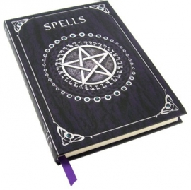 Carnet Intime Gothique Spell Book Purple