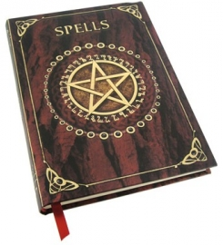 Carnet Intime Gothique Spell Book Red