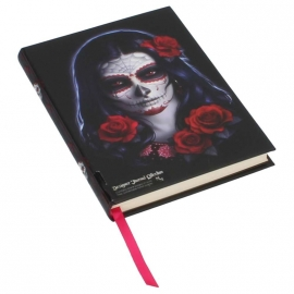 Carnet Intime Gothique Sugar Skull James Ryman