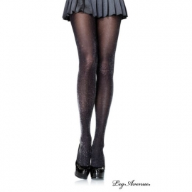 Leg Avenue Collant Gothique Lurex