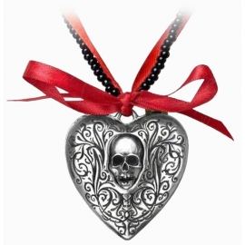 collier alchemy gothic Reqliquary Heart Locket