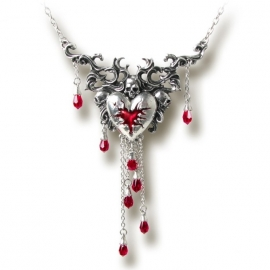 collier gothique alchemy gothic bleeding heart