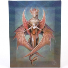 toile sur chassis gothique anne stokes Copper Wing