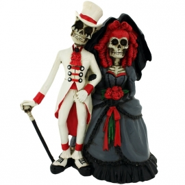 Figurine Couple de Squelettes Forever by your side