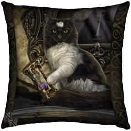 Coussin Gothique Lisa Parker Time's Up