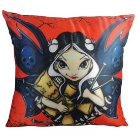 coussin gothique Jasmine Becket Grifith Fairy Voodoo