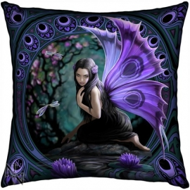 Coussin Gothique Anne Stokes Fée Naiad