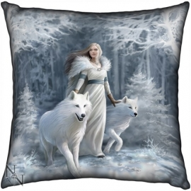 Coussin Gothique Anne Stokes Winter Guardian