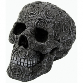 Figurine Crâne Black Rose Death