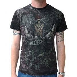 Darkside Tshirt Gothique Tatoo Vintage