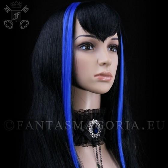 extensions de cheveux bleues. Black Bedroom Furniture Sets. Home Design Ideas