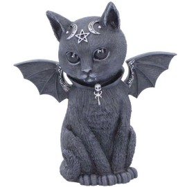 Figurine chat noir Malpuss B5149R0