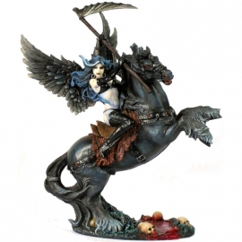 figurine ange gothique avenging angel