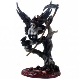 figurine ange gothique underworld harpie