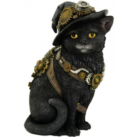 statuette Clockwork Kitty D3893K8