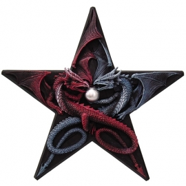 Applique Dragon Dragon's Pentagram