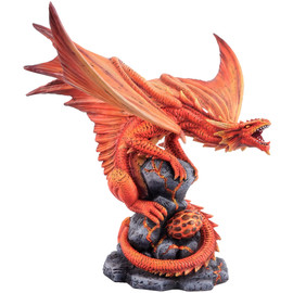 Statuette Dragon Anne Stokes Fire Dragon