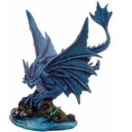 Statuette Dragon Anne Stokes Water Dragon
