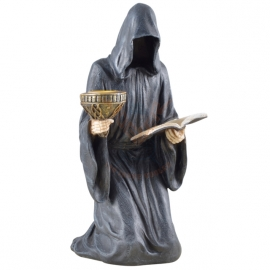 Figurine gothique Faceless Death with book