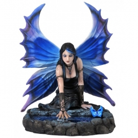 statuette fée gothique anne stokes immortal flight