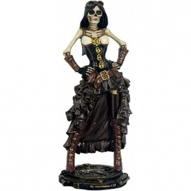 Figurine Gothique Lady Steampunk