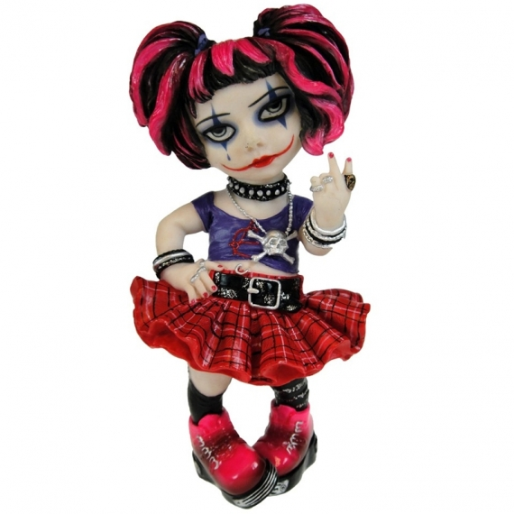 Little Miss Rebel / Figurines de Femmes Gothiques