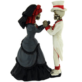 Figurine Couple de Squelettes Devoted To You