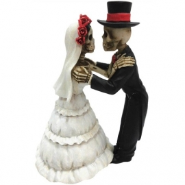 Figurine Couple de Squelettes Endless Love