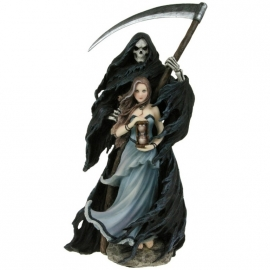 figurine gothique anne stokes summon the reaper