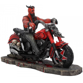 Figurine Biker The Devil's Road James Ryman B4450N9