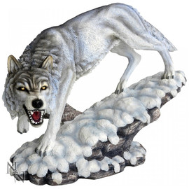 figurine loup Winter Ghost
