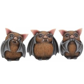 Figurine Three Wise Bats B4473N9