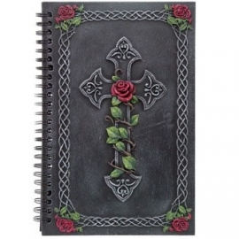 grimoire gothique Cross and Roses