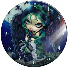 Horloge Gothique Jasmine Becket-Griffith Perched & Sat & Nothing