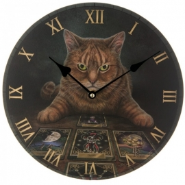 Horloge Gothique Lisa Parker The Reader Cat Messenger