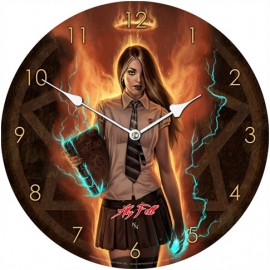 Horloge Gothique Aly Fell Necromancer