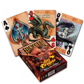 jeu de cartes gothique anne stokes Age of Dragons