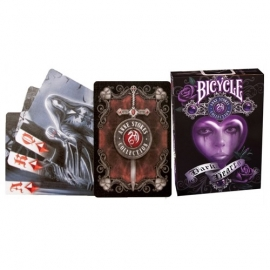 jeu de cartes gothique anne stokes dark hearts