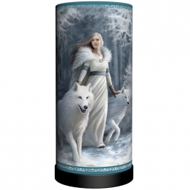 Lampe de chevet Anne Stokes Winter Guardians