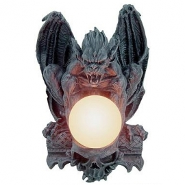 lampe gothique demon