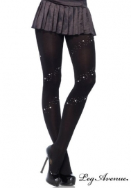 Leg Avenue Collant Gothique Night Star
